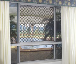 Marine Grade Stainless Steel 445M2 Security Screen