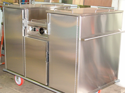 Fabricating New Generation Ferritic Stainless Steels - Food Trolly