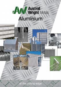 Aluminium Catalogue Austral Wright Metals